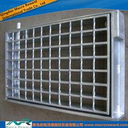 Grelha de aço ASTM quadros incorporado