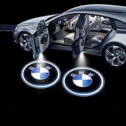 مصباح الإسقاط التلقائي ضوء سيارة LED زخرفي ضوء الليزر اللاسلكي مصباح الترحيب