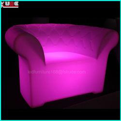 Multi-Color Light up Table et chaise de signes de mobilier de jardin LED
