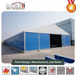 tent van het Pakhuis van de Opslag van de Structuur van pvc van het Aluminium van 20X80m de Industriële met Stevige Muur