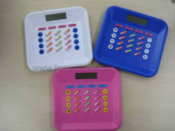 Cadeau promotionnel médical de soins de santé de la forme de pilule Capsula calculatrice