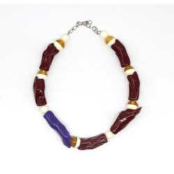 Name Halskette Personalisierte Acrylharz Modeschmuck