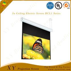 """천장 전기 스크린 HCl1 시리즈 전기 스크린에 의하여 자동화되는 스크린 영사기 스크린 (80 """" - 170 """" 4:3 /16에 있는 Xy 스크린: 9)"""