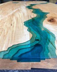Epossiresina per la Tabella del fiume con i colori