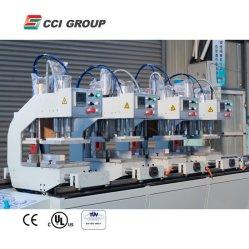 ماكينة لحام رباعية الرأس لباب نافذة الجمعية PVC
