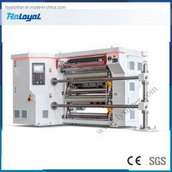 taglierina ad alta velocità 600m/Min che fende la macchina di riavvolgimento per la pellicola flessibile dell'imballaggio