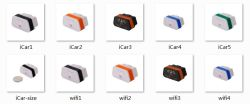 Prezzo di fabbrica! Scanner di codice diagnostico dell'interfaccia di Icar 2 Elm327 Bluetooth dello scanner di Icar2 Bluetooth/WiFi OBD