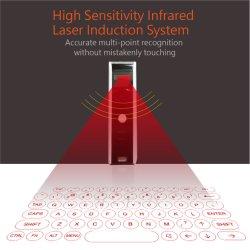 Collegamento senza fili di Bluetooth della proiezione della tastiera della tastiera del laser dell'OEM