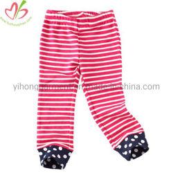 Noite casual de Cor Personalizado Pijamas Stripes Pants para criança