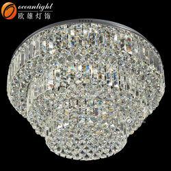 新製品の安いシャンデリアの天井の照明LED水晶によって中断されるランプ(OM55104-800)