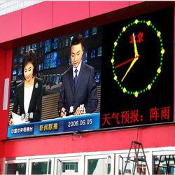 HD P8 esterno che fa pubblicità alla visualizzazione elettronica impermeabile dello schermo del LED