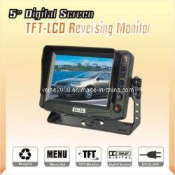"""Moniteur couleur TFT-LCD numérique 5 """"pour voiture avec DC 11-32V (SP-527)"""