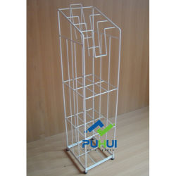 Loja de venda a retalho do piso Apresentação fio metálico Quiosque (PHC308)