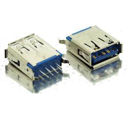 موصل USB من النوع Vibical Straight DIP من النوع 3.0 أمبير