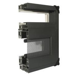 China Los Materiales de Construcción de aleación de aluminio puertas y ventanas del sistema de aislamiento térmico de la serie 90 perfiles de aluminio
