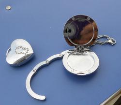 Crochet de suspension de sac avec miroir (ASNY-LUBH902)