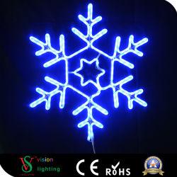 Les lumières de Noël à LED de Zhongshan de flocon de neige à LED