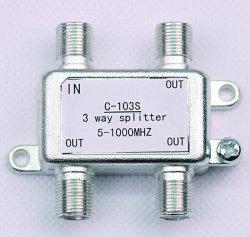 3 de BinnenSplitser CATV van de manier (shj-C103S)