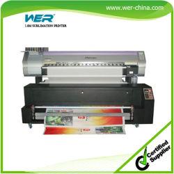 La impresión en tela y cortina de ducha con cabezal Epson DX5 1440ppp Impresora de sublimación de 1,8 m