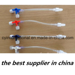 Высокое качество медицинских одноразовых трехходовой кран с удлинительной трубки