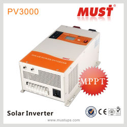 1000//2000/3000/4000/6000W Чистый синус инвертор с солнечного зарядного устройства и DC-выходов переменного тока
