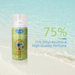 99.99% Disinfecant 75% 알콜 살포 공기 청정제 공기 바이러스 세탁기술자