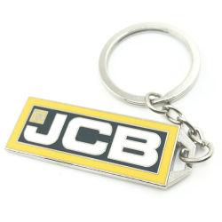 Lettre de métal moulé personnalisé de chaîne de clé de l'émail dur trousseau de clés de la chaîne de clé avec logo personnalisé