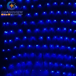 2m de ancho de la luz de Red LED de luz azul con 8-Mode