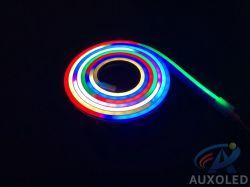 DC5V 9.6W RGB flexible LED Streifen-Neonlicht-Farbband-Riemen-Seil-Lampe der Architekturbeleuchtung-