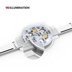 12V는 LED 점 빛 DMX 통제 지능적인 LED 소형 모듈을 내화장치한다