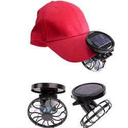 De draagbare Mini Zonne Aangedreven Koeler van de Ventilator van de Klem