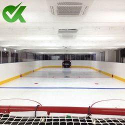 Self-Lubricating UHMWPE gelo artificial ou de bloco flexível da placa de UHMWPE Arena de gelo Dasher Board