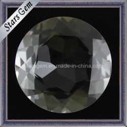 Pietra brillante bianca all'ingrosso del cristallo di Natrual di prezzi di fabbrica