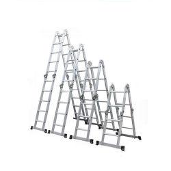 5,84 m klappbare Multifunktionsleiter mit quadratischem Rohr