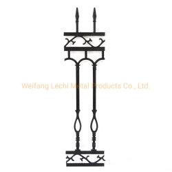 Lucha contra la oxidación/subir un diseño clásico de protección de plantas ornamentales de hierro fundido valla Post Caps de Villa