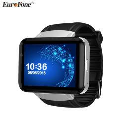 La vigilanza astuta Dm98 2.2 telefono Mtk6572 di OS 3G Smartwatch del Android 4.4 di pollice si raddoppia macchina fotografica WCDMA GPS della ROM di memoria 1.2GHz 4GB
