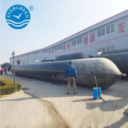 海洋のエアーバッグ、海洋の気球、容器のための膨脹可能なローラーのエアバッグを進水させるゴム製船