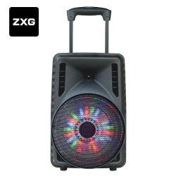 Leitor de karaoke Carrinho Portátil Bluetooth Eco plástico altifalante bidireccional de gravação