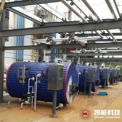 China-Fabrik-Zubehör-horizontaler Abgas-Wärme-Wiederanlauf-Dampfkessel für Öl-Gas-Generator-Set