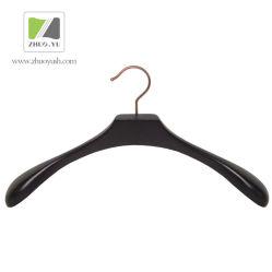 Revestimento de Madeira Preta de Alta Qualidade/Vestuário Cabide