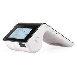 PT7003 Mobile POS pago máquina Impresora de escáner de códigos QR NFC Lector de tarjetas de crédito, todo en uno con WiFi y Bluetooth.