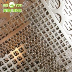 둥근 구멍 스테인리스 스틸 천공 금속 시트 필터 메시 사진 물/오일/공기 여과용 에칭 케미칼 펀칭 메시