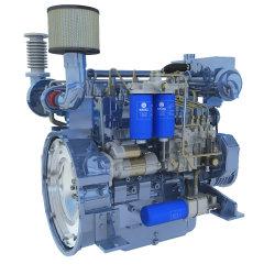 De hete Mariene die Dieselmotor van de Reeks van Weichai Wp2/Wp3 hoofdzakelijk voor Kleine Jachten, Kleine Vissersboten, de Schepen van het Vervoer van de Rivier wordt gebruikt