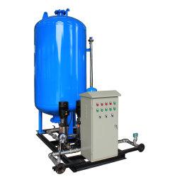 Máquina de desgaseificação do vácuo planta de tratamento de água do tanque com bomba de vácuo
