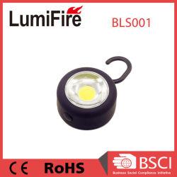 3W COB LED avec aimant et crochet LED lampe de travail