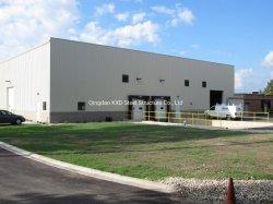 Prefabricated 가벼운 강철 구조물 프레임 모듈 금속 헛간 작업장 건물