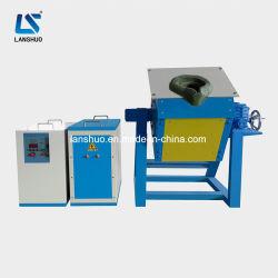 Роторного типа печи IGBT средних частот индуктивные алюминиевый завод