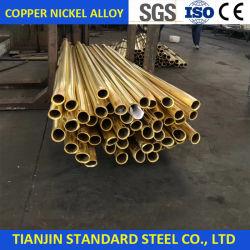 CuNi 70/30 Ligas de cobre reta do tubo de níquel
