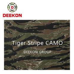 Commerce de gros d'usine polyester coton tissu de camouflage militaire numérique