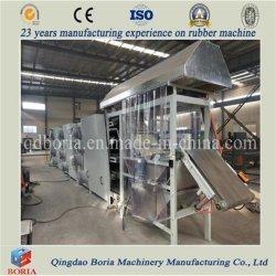합성 고무 시트 냉각 라인 / 중국에서 냉각 기계 공장